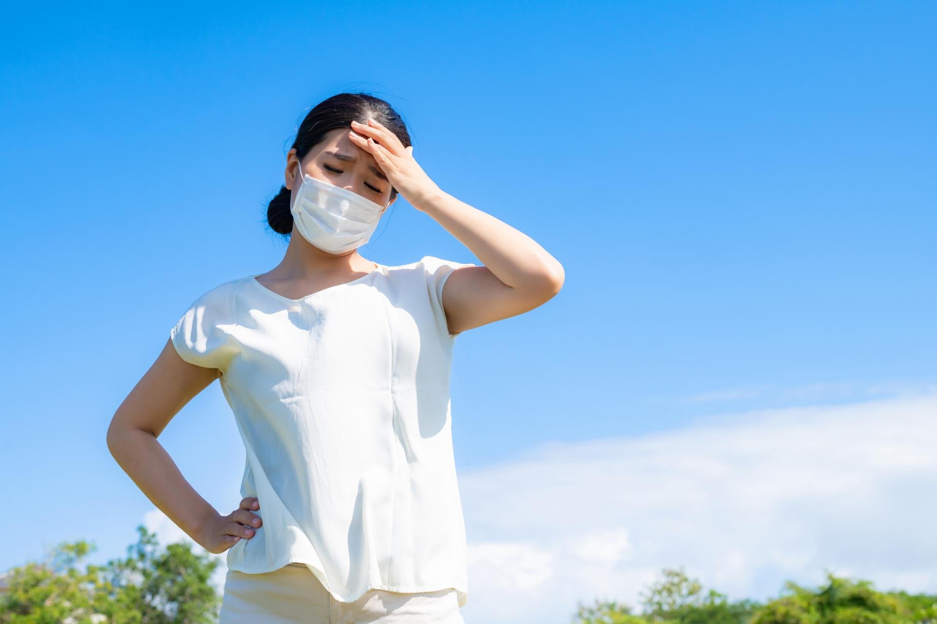 マスク着用による肌状態の変化と夏のスキンケア